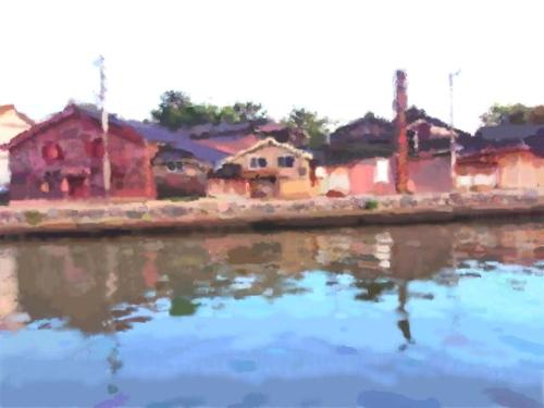 上庄川河口